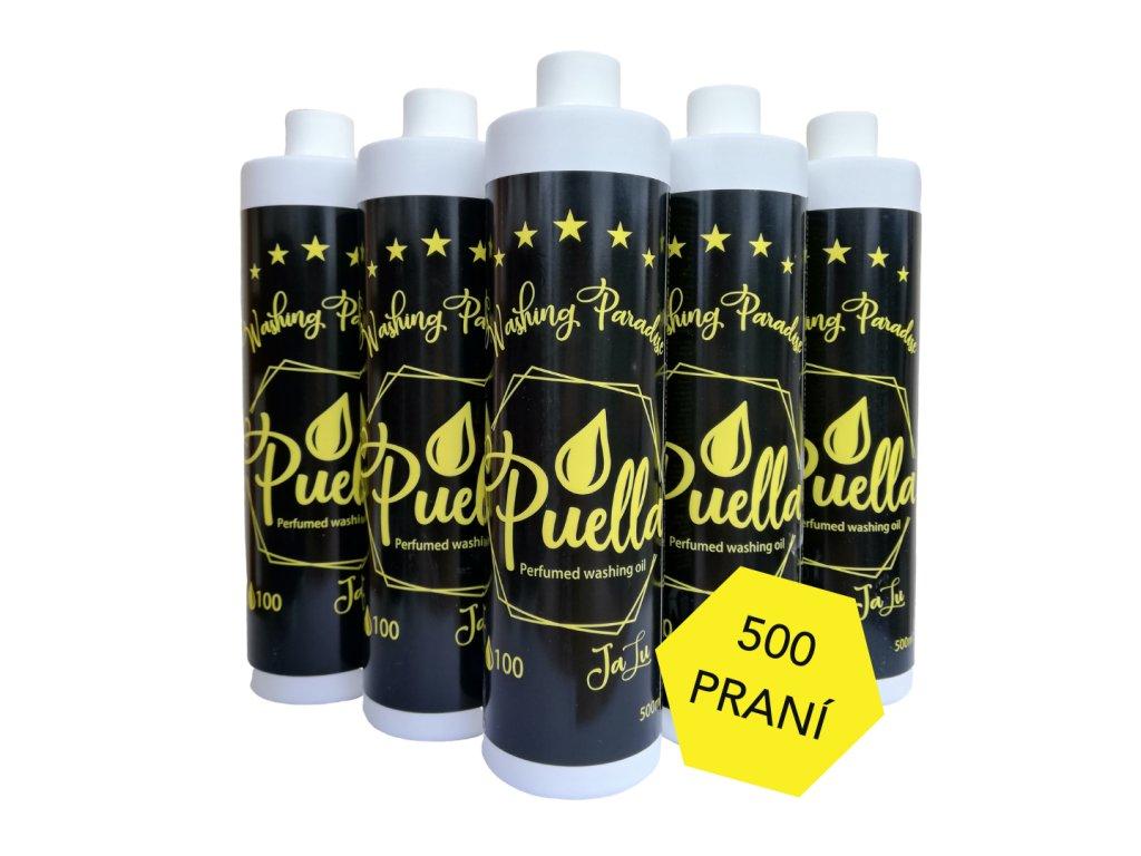 SET 5x Puella Parfémovaný olej na pranie - JaLu 500ml (spolu 2,5l)